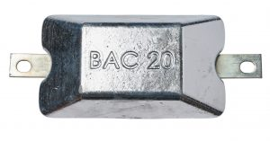 2KG zinc anode bera 20
