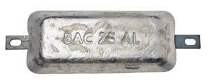 2,5KG Aluminium anode BAC BERA