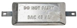 4,3KG Aluminium anode BAC 43 BERA