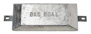 BAC 80 AL aluminium anode 8 KG